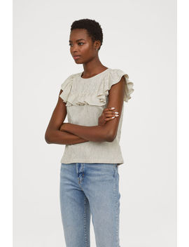 Shirt Mit Volant by H&M