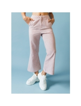 Cambridge Pants   Red Gingham by Peppermayo