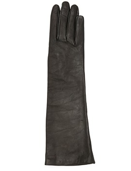 Long Leather Gloves by Carolina Amato
