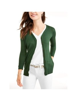 Women's Everyday V Neck Button Down Cardigan by What's Next