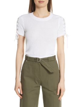 Iona Lace Up Sleeve Sweater by Rag & Bone