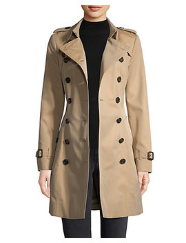 Burberry Chelsea Mid Length Trench Coat by Burberry