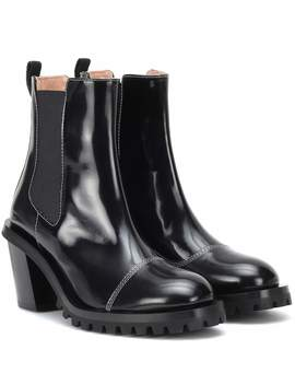 Patent Leather Ankle Boots by Acne Studios