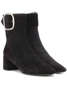 Joplin 50 Suede Ankle Boots by Saint Laurent