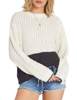 Block Party Colorblock Sweater by Billabong