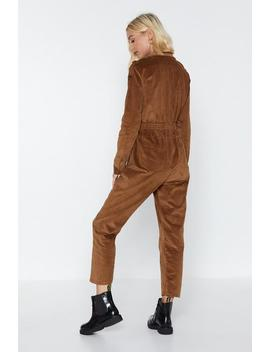 Broken Re Cord Jumpsuit by Nasty Gal