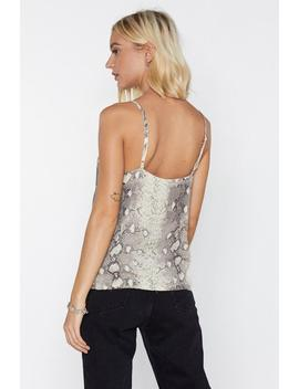 What Difference Does It Snake Cami Top by Nasty Gal