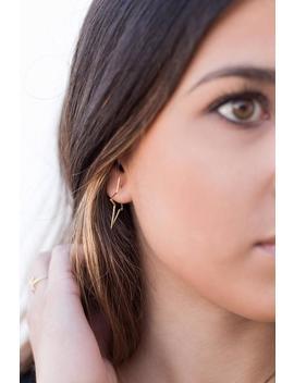Star Earrings, Star Hoops, Original Earrings, Star Hoop Earrings, Modern Earrings, Minimalist Jewelry, Trendy Earrings, Dainty Earrings by Etsy