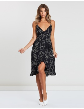 Iconic Exclusive   Willow Wrap Frill Dress by Atmos&Here