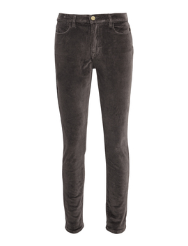 Velvet High Skinny Charcoal Pants by Frame