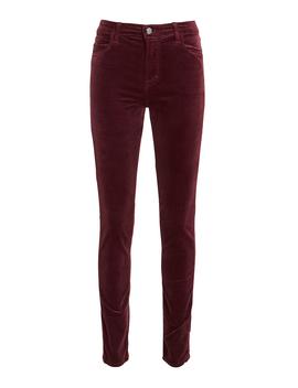 Maria Velvet Skinny Pants by J Brand