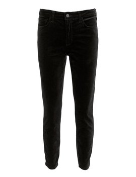 Margot Velvet Skinny Jeans by L'agence