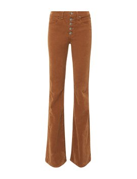 Beverly Corduroy Flare Pants by Veronica Beard