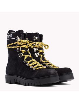 Tommy Jeans Lace Up Hiking Boots by Tommy Hilfiger