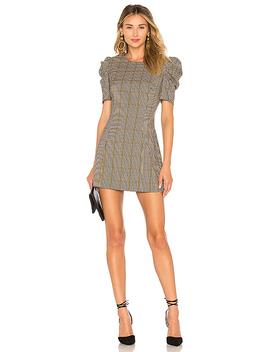 Puff Sleeve Mini Dress by Amanda Uprichard