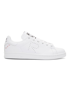 Baskets Blanches Stan Smith édition Adidas Originals by Raf Simons