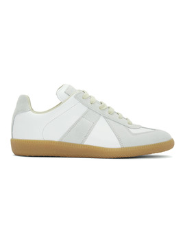 Baskets Blanches Classic Replica Exclusives à Ssense by Maison Margiela