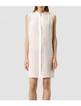All Saints Luna Neina Silk Dress Size Uk 12 Bnwt £148 by Ebay Seller
