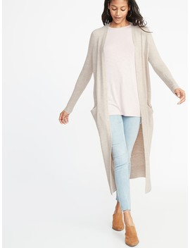 Soft Brushed Open Front Duster For Women by Old Navy
