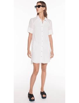 Cotton Voile Shirt Dress by Cue