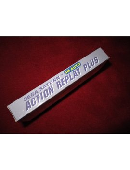 Action Replay 4 M Plus   Ultimate Enhancement For Your Saturn Console by By          Hkems
