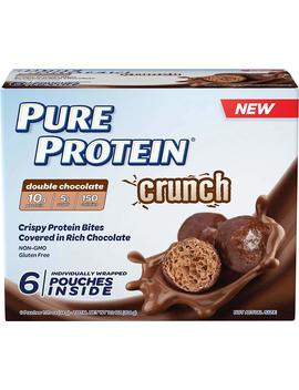 Pure Protein Crunch Chocolate, 1.2 Ounce, 6 Count Multipack by Pure Protein