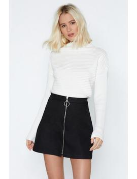 Snuggle Down Ribbed Sweater by Nasty Gal