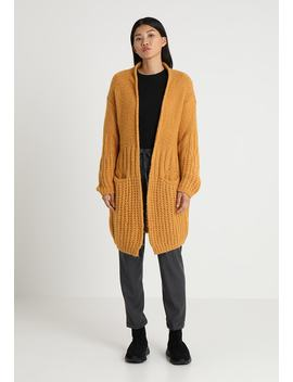 Mix Chunky Long Cardie With Belt   Vest by Benetton