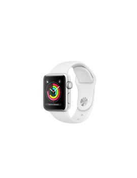 Apple Watch   AluminiumGehäuse, Silber, Mit Sportarmband, Weiß by Apple