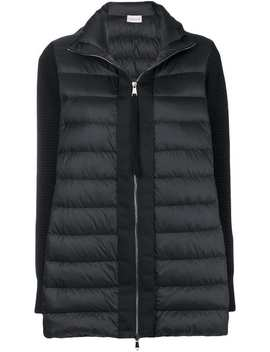 Padded Knit Cardigan by Moncler