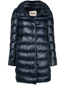 Feather Down Puffer Jacket by Herno