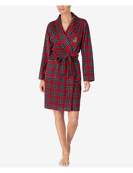 Belted Short Robe by Lauren Ralph Lauren