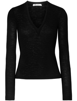 Ribbed Wool Sweater by T By Alexander Wang