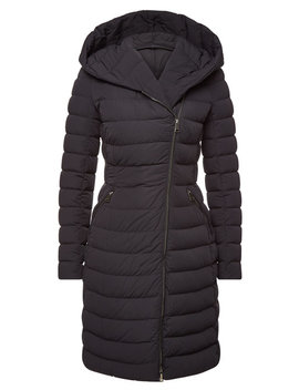 Barge Quilted Down Coat by Moncler