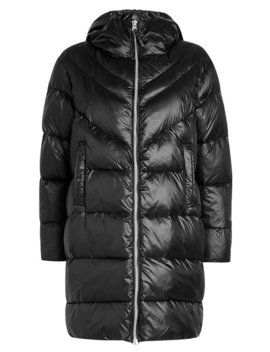 Quilted Down Coat by Blauer