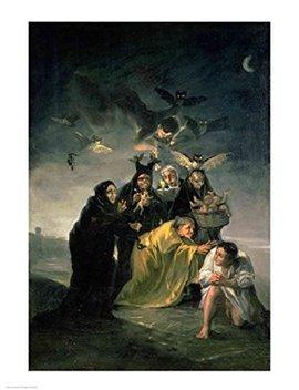 Francisco De Goya – Aquelarre De Las Brujas Artistica Di Stampa (45,72 X 60,96 Cm) by The Poster Corp