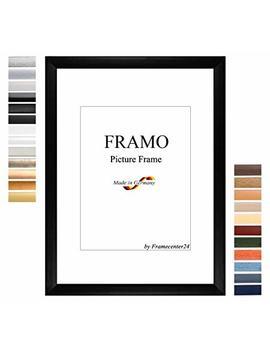 Framo 35mm Custom Dimensioned 60 X 83 Cm Frame, Color: Black Matt, Handmade Mdf Frame With Break Resistant Anti Reflex Artificial Glass Pane And Sturdy Mdf Backing; Frame Width: 35 Mm, Outside Dimensions: 65,8 Cm X 88,8 Cm by Framo