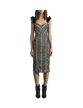 Lou Lou Lace Ruffle Dress by Rebecca Vallance