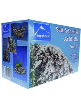 Supa Snow   Self Adhesive Artificial Fake Snow For Christmas Decoration 500g by Ebay Seller