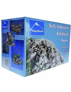 Supa Snow   Self Adhesive Artificial Fake Snow For Christmas Decoration 500g by Supa