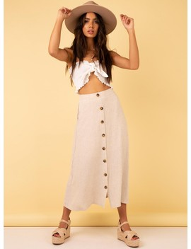 Alia Maxi Skirt by Princess Polly