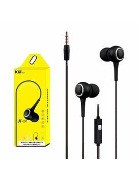 Lanspo Universal 3,5 Mm In Ear Stereo Ohrhörer Kopfhörer Mit Mikrofon Für Handy by Amazon