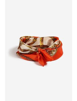 **Chain Print Head Scarf by Topshop