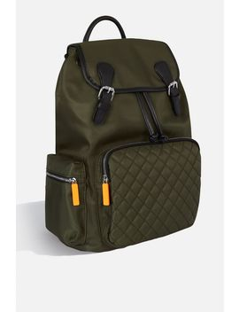 **Mia Khaki Backpack By Skinnydip by Topshop