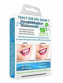 Missing Tooth Temporary Cosmetic Teeth Kit by Cosmetic Teeth Uk
