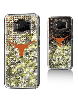 Texas Longhorns Samsung Galaxy Dots Glitter Case by Strategic Printing