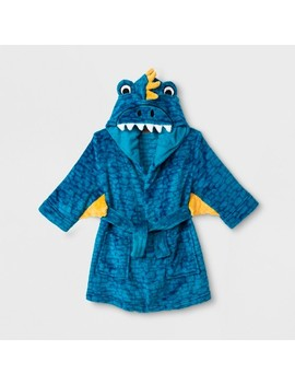 Toddler Boys' Dragon Robe   Cat & Jack™ Blue by Cat & Jack™
