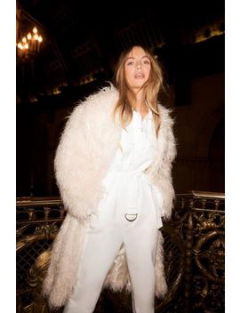 I Know The Feeling Shaggy Coat by Nasty Gal