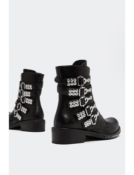 Heavy Hitter Hiker Boot by Nasty Gal