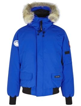 Pbi Chilliwack Fur Trimmed Shell Jacket by Canada Goose